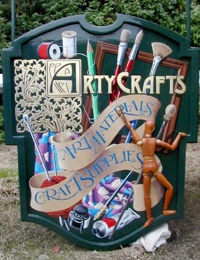ArtyCrafts sign